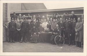 Politiekorps Zaandam, deels. Rond 1941 (collectie R.R. Pel)