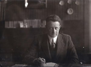 R.R. Pel rond 1941 (collectie R.R. Pel)